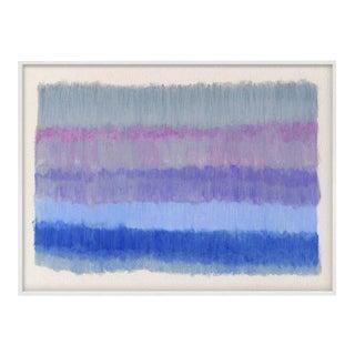 """""""ColorCake (Grey, Violet, Blue)"""" Unframed Print For Sale"""
