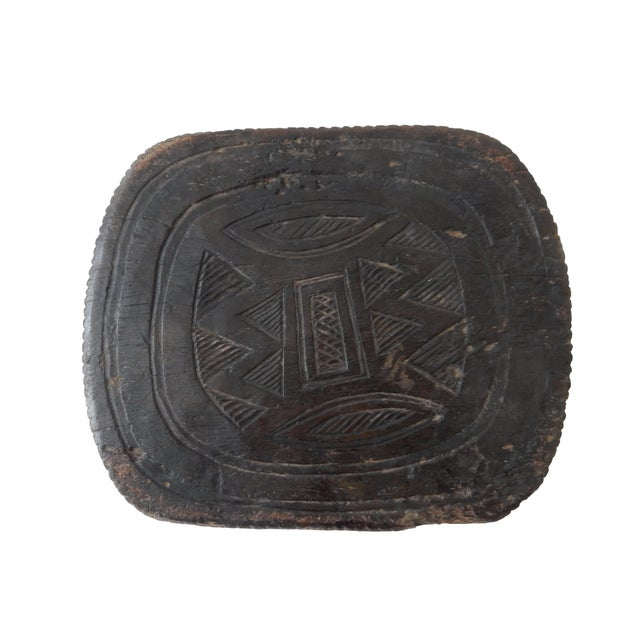 Senufo Carved Milk Stool - Image 5 of 6