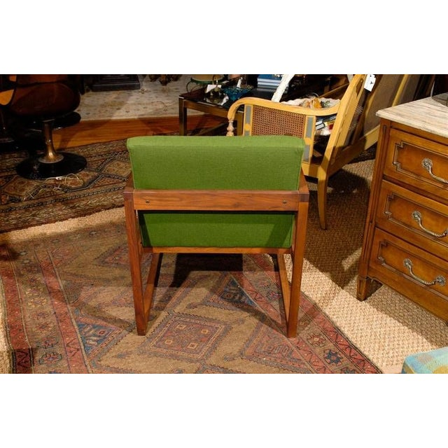 1950s Mid-Century Teak Armchair For Sale - Image 5 of 5
