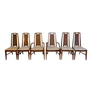 Mid Century Modern j.b. Van Sciver Co. Dining Chairs- Set of 6 For Sale
