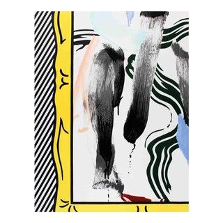 Roy Lichtenstein-Brushstrokes-1983 Lithograph For Sale
