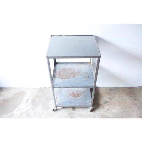 Industrial Metal Rolling Cart - Image 4 of 5