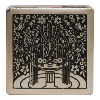 Art Nouveau Trinket Box For Sale