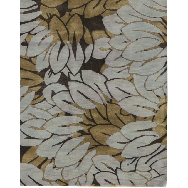 "Contemporary Hand Woven Rug - 6'1"" x 9'2"" - Image 3 of 3"