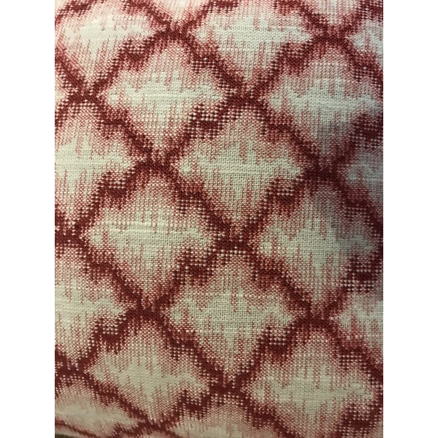 These lovely cranberry red on trend throw pillows will brighten up any room. Down filled with removable (zipper)covers,...