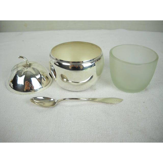 Silverplate Marmalade Server, 4 Pieces For Sale In Orlando - Image 6 of 9