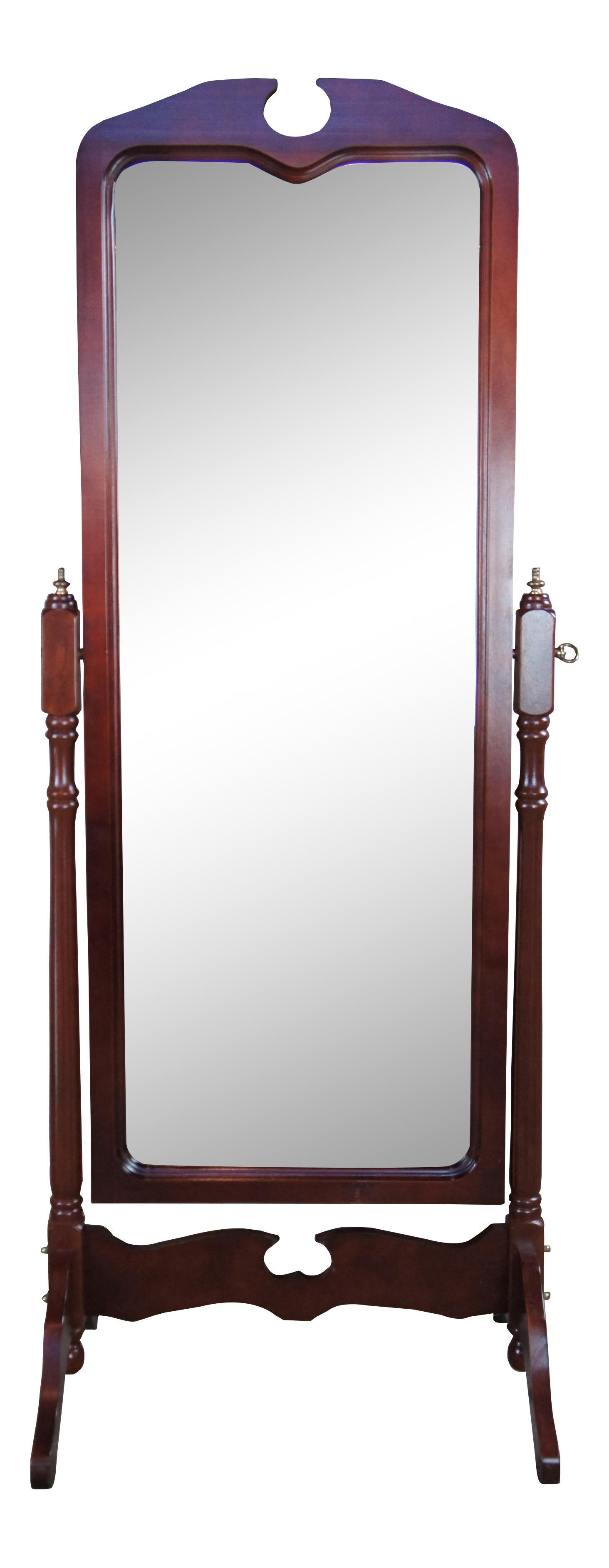 Late 20th Century Traditional Cheval Full Length Bedroom Dressing Standing Floor Vanity Mirror Chairish