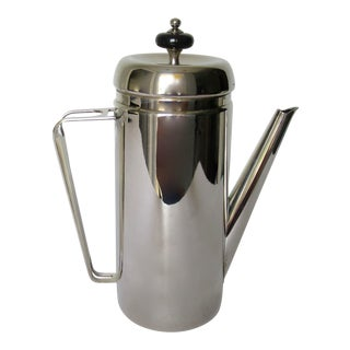 Mid-Century Silverplate Coffee Pot Server. For Sale