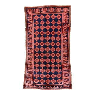 Antique Central Asian Rug - 4'9'' x 8'1''
