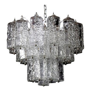 Chandelier Attributed to Venini, Murano For Sale