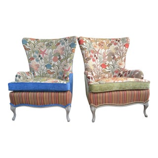 Mid-Century Outer Banks Armchairs - A Pair