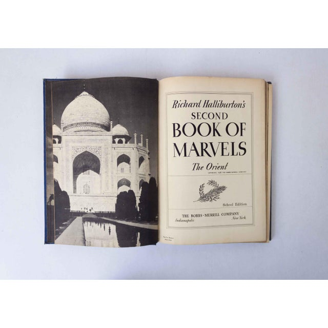 1930s Second Book of Marvels: The Orient, Vintage School Book For Sale - Image 5 of 10