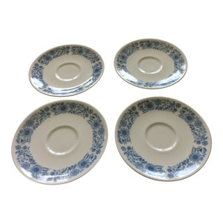 Royal Doulton Saucers - Set of 4 For Sale