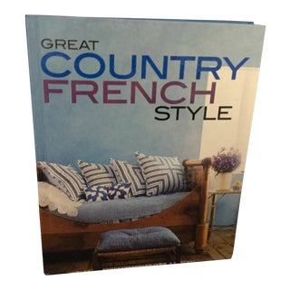 Great Country French Style Book For Sale