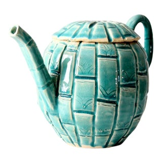 Vintage Studio Pottery Tea Pot For Sale