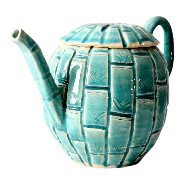 Vintage Studio Pottery Tea Pot For Sale