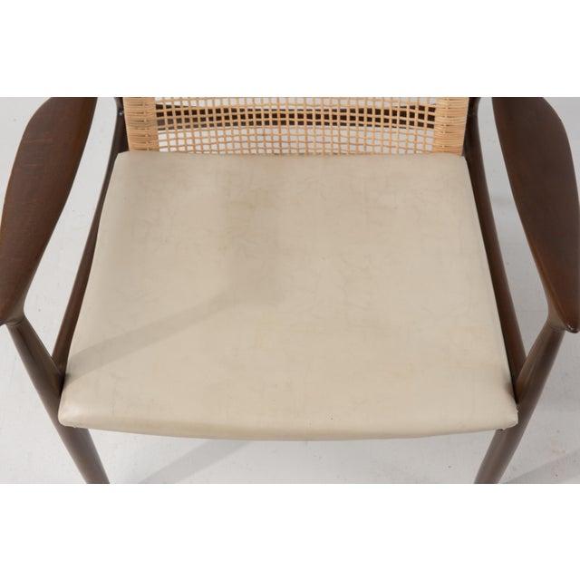 Mid Century Modern Ib Kofod Larsen Selig Armchair For Sale - Image 10 of 13