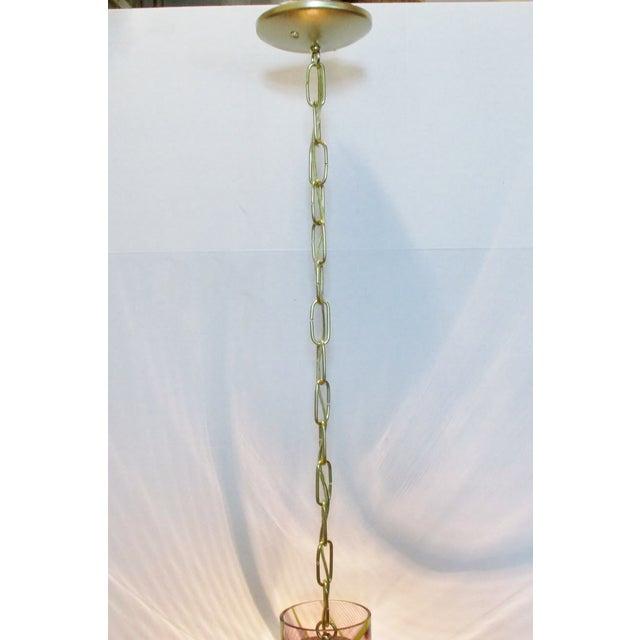 Oversize Italian Glass Pendant For Sale - Image 4 of 7