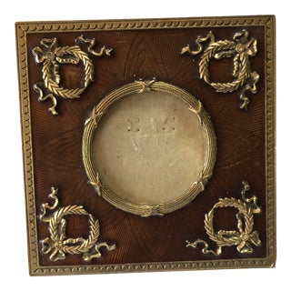 French Empire Style Desk Picture Frame For Sale