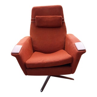 1960s Mid Century Modern Adrian Pearsall Mechanical Swivel Chair
