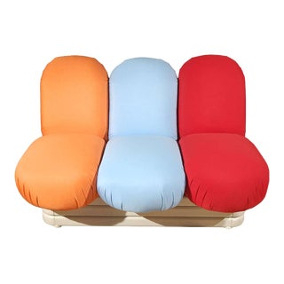Settee by Pierre Paulin for Artifort For Sale