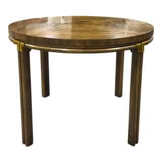 Drexel Campaign Dining Table From the Accolade Collection For Sale