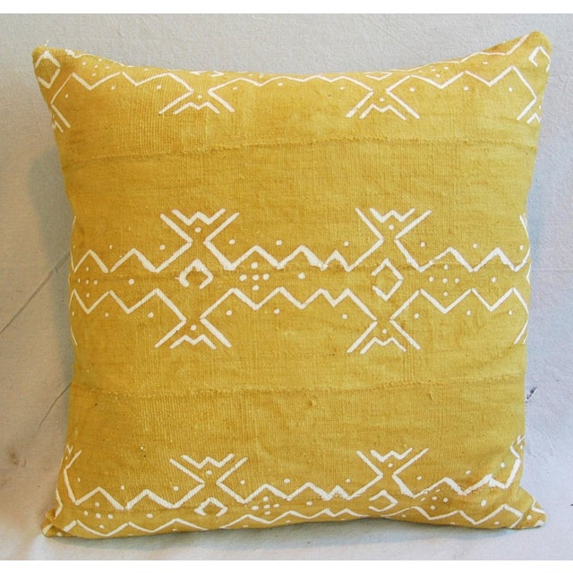 Handwoven Tribal Textile Feather/Down Pillows - Pair - Image 4 of 11