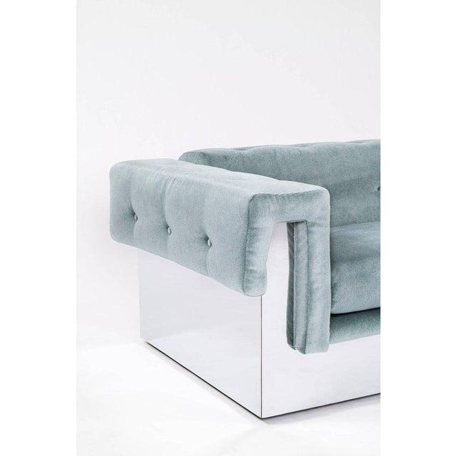 Mid-Century Modern Milo Baughman Pair of Sofas For Sale - Image 3 of 9
