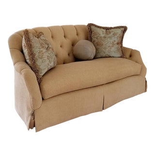 Transitional Marge Carson Sofa/Settee For Sale