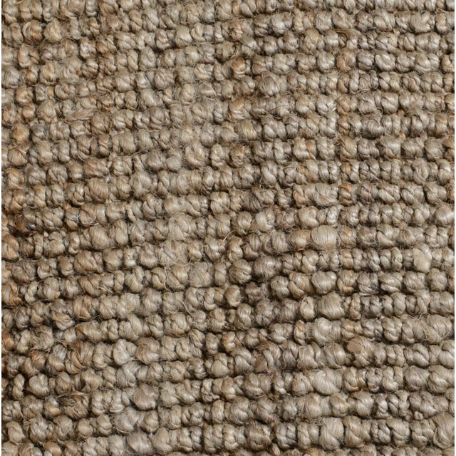 Loop Natural Jute Rug - 5 X 8 For Sale - Image 4 of 6