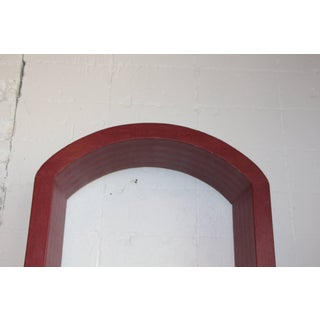 Red Lizard Skin Arched Three-Piece Wall Unit Preview