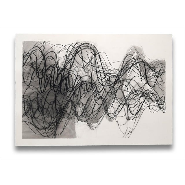 """Margaret Neill Margaret Neill """"Manifest 1"""", Drawing For Sale - Image 4 of 4"""