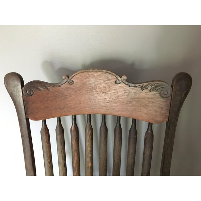 Early American Antique Side Chair - Image 6 of 10