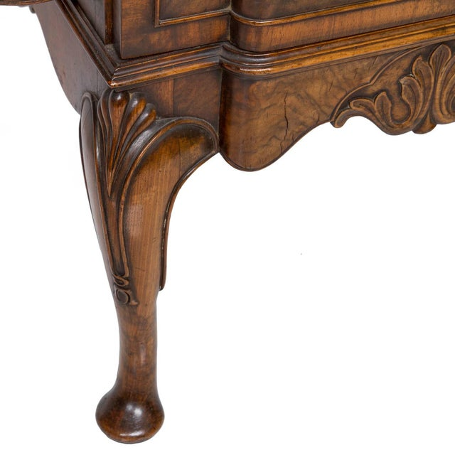 Wood 19th Century English Walnut Serving Sideboard For Sale - Image 7 of 11
