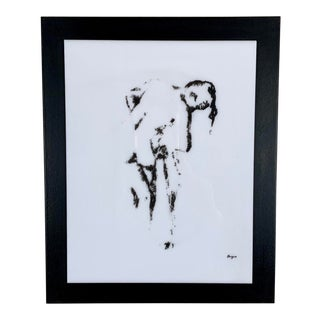 1960's Degas Silkscreen on Lucite by Modern Classics For Sale