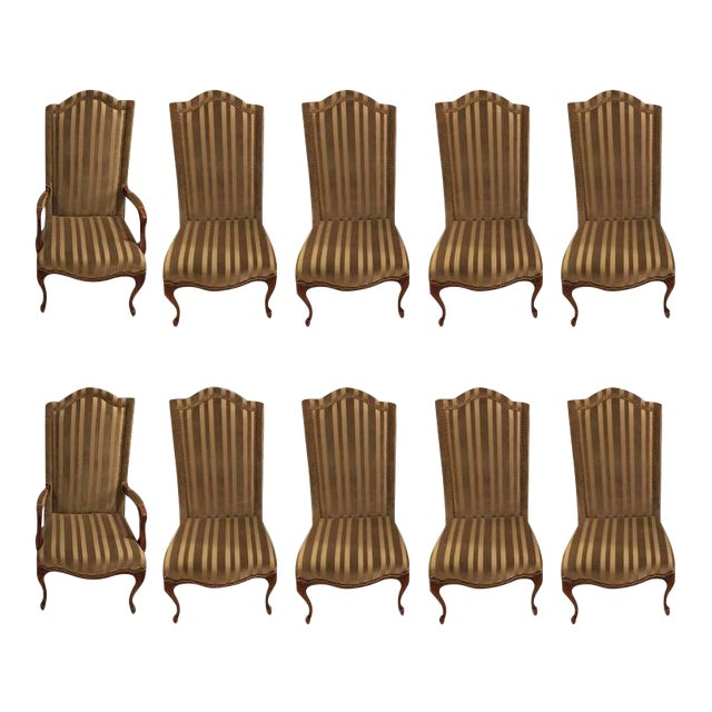 1960s Harden Dining Room Chairs - Set of 10 For Sale