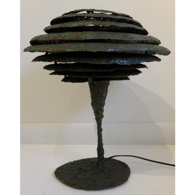 Brutalist Lamp by James Bearden - Image 2 of 8