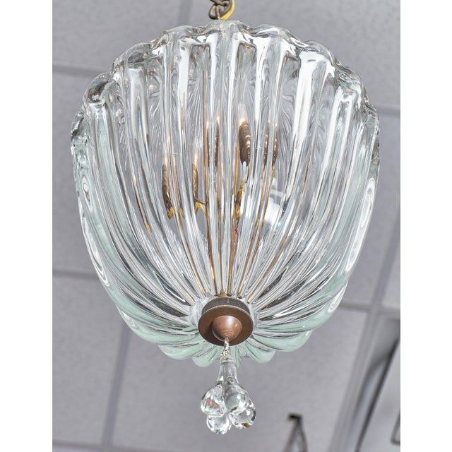 Glass 1950s Murano Glass Lantern by Barovier For Sale - Image 7 of 10