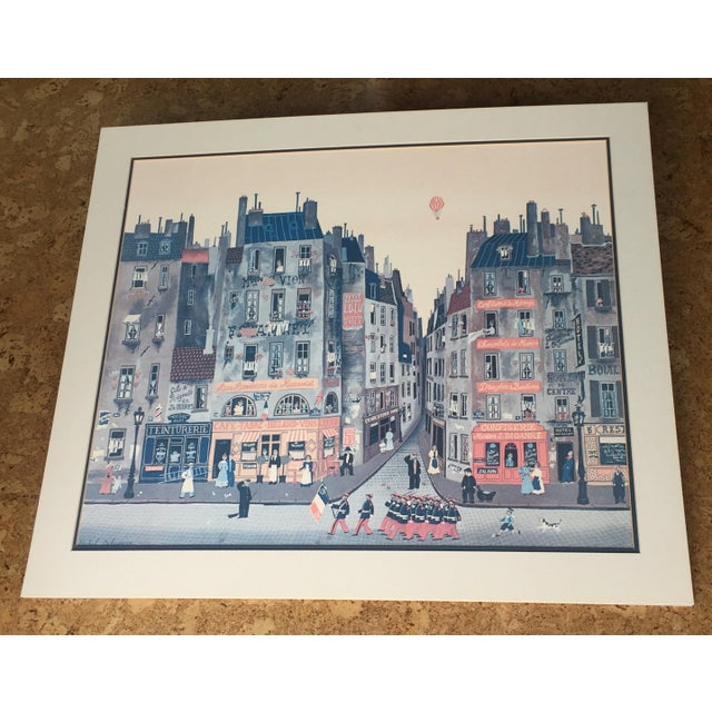 """1980's French """"Parade"""" Fine Stone Lithograph, Delacroix - Image 2 of 7"""
