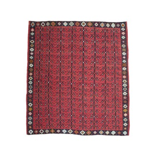 """Tree-Of-Life With Birds"" Kilim For Sale"
