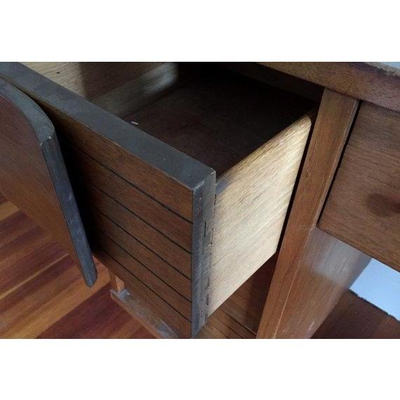 Mid Century Modern Johnson Carper Desk - Image 4 of 6
