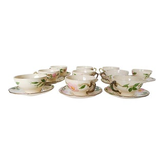 Vintage Franciscan Desert Pattern Tea / Coffee Set Service for 10. For Sale