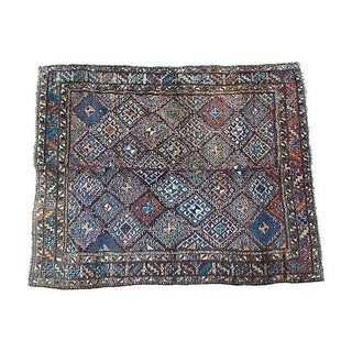 "Vintage Uzbek Julkhyr Rug - 6' X 7'6"" For Sale"
