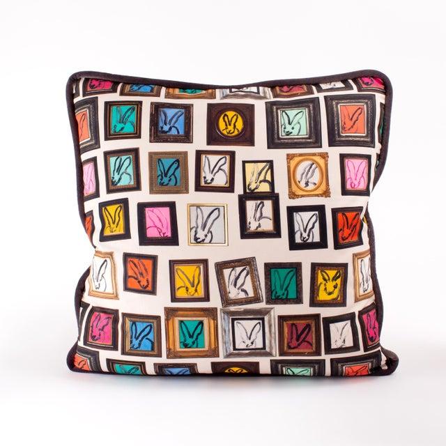 Hunt Slonem Hunt Slonem Hunt's Studio Cotton Pillow Cover For Sale - Image 4 of 4