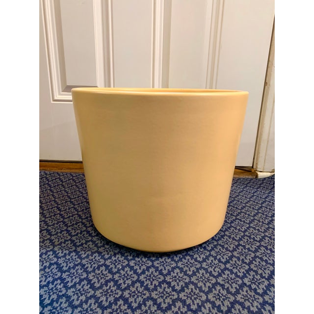 Mid-Century Gainey Style Pottery Planter For Sale - Image 10 of 10