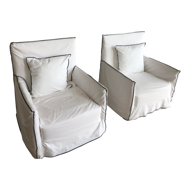 Gervasoni Ghost Armchairs - A Pair - Image 1 of 7