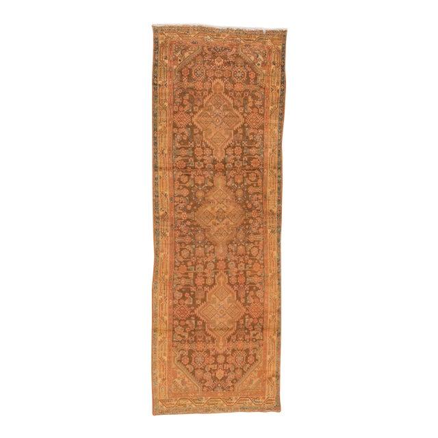 "Vintage Persian Hamadan Rug, 3'7"" x 10'10"" For Sale"