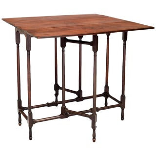 George III Mahogany Spider Leg Table For Sale