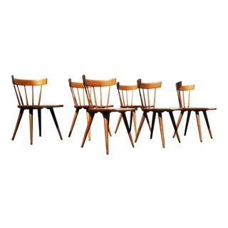 A Set of 6 Paul McCobb Planner Group Dining Chairs For Sale