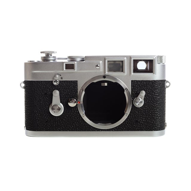 Leica M3 #1156xxx -very Late Single Stroke-Vintage 1966 Rangefinder camera For Sale - Image 9 of 11
